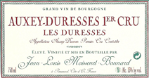 Moissenet-Bonnard Duresses Label