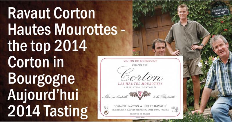 Ravaut 2014 Corton Header