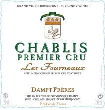 Dampt Fourneaux Label