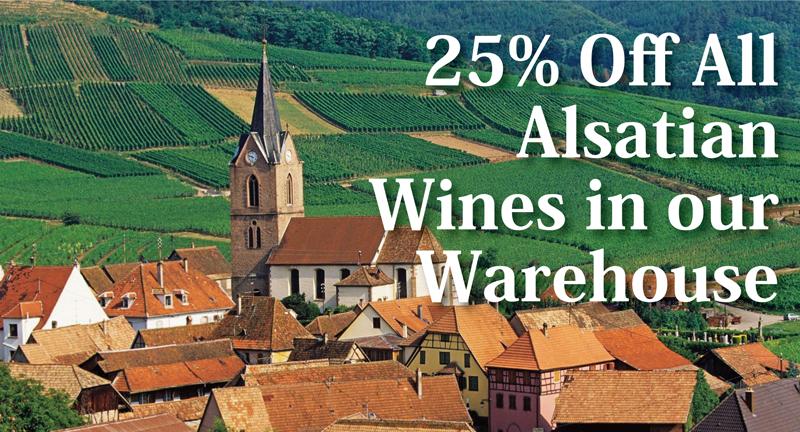 Alsace 25% Off Header