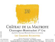 Maltroye Grandes Ruchottes 2010 label