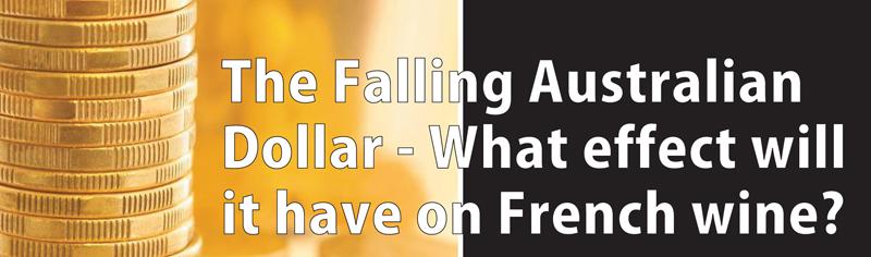 Falling Australian Dollar Header