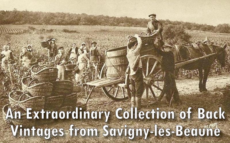 Savigny Back Vintages