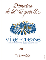Verpaille Virolis Label 2011