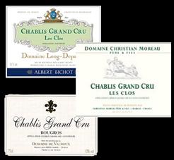 Chablis 3 Labels