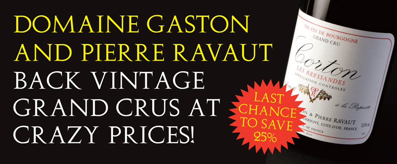 Ravaut Back Vintages 25%
