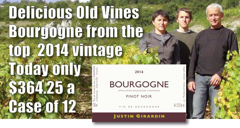 Jacques Girardin 2014 Bourgogne Header