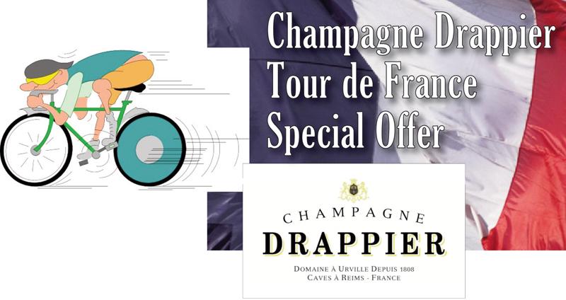 Drappier Tour de France Header