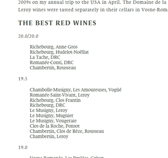 Coates 2009 Top 15