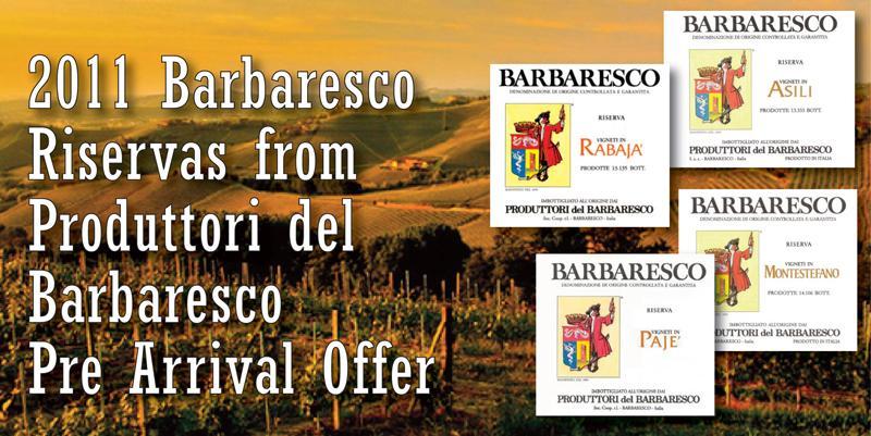 Produttori Barbaresco Crus 2011 Header