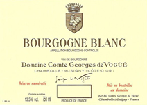 de Vogue bourgogne blanc label