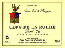 Castagnier Clos de la Roche Label