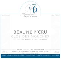 Berthelemot Mouches Rouge Label