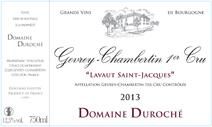 Duroche 2013 Label