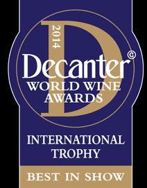 Decanter Trophy 2014