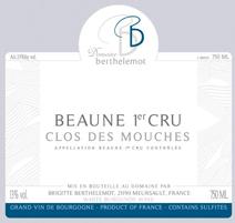 Berthelemot Mouches Blanc Label