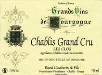 Gautherin Clos Label