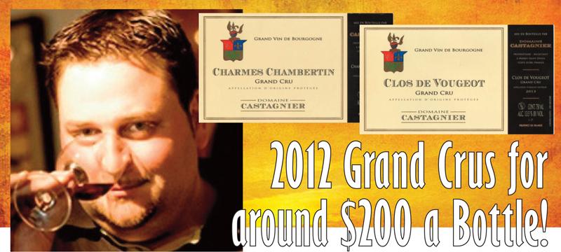 Castagnier 2012 Grand crus