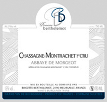 Berthelemot Abbaye Label 2