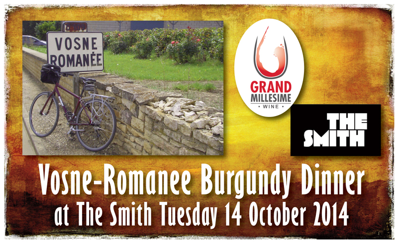 Vosne-Romanee Dinner Header