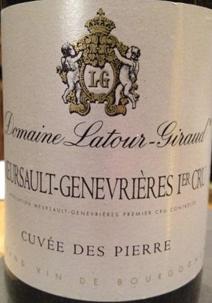 Latour-Giraud Pierre Label