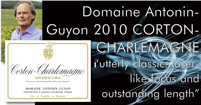 Guyon 2010 Corton-Charlemagne