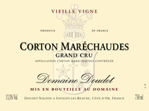 Doudet Corton Label