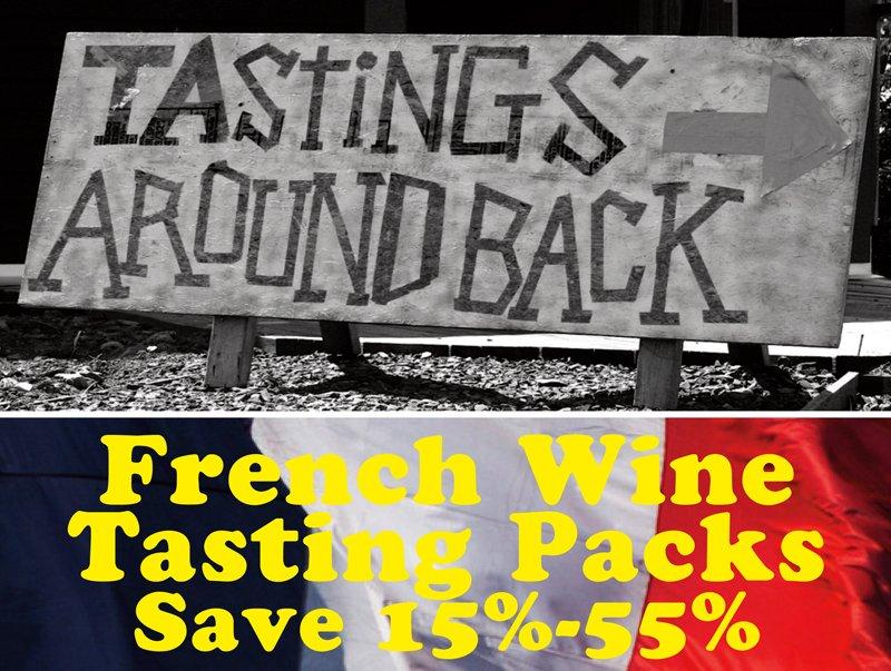 French Wine Tasting Packs Header