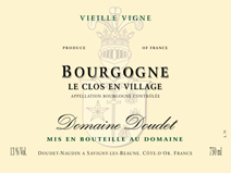 Doudet Bourgogne Clos en Village