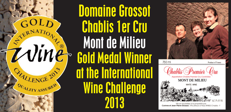 Grossot 2010 Gold Medal Header