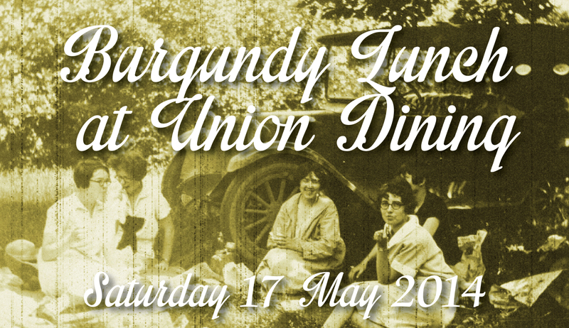 Union Dining Burgundy Lunch