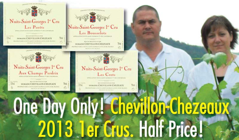 Chevillon-Chezeaux 2013 Half Price Header