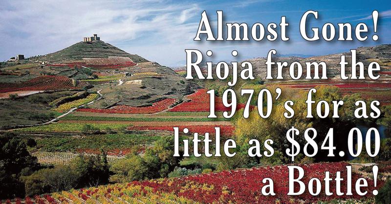 Rioja 1970s $84