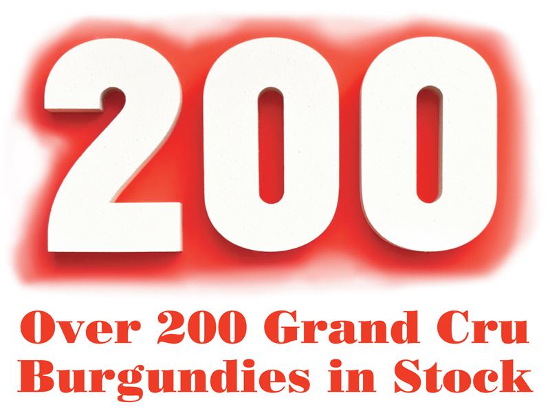 200 Grand cru Burgundies Header