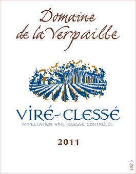 Verpaille Vire-Clesse 2011 Label