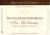 Chezeaux Vaucrains Label