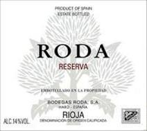 Roda Label