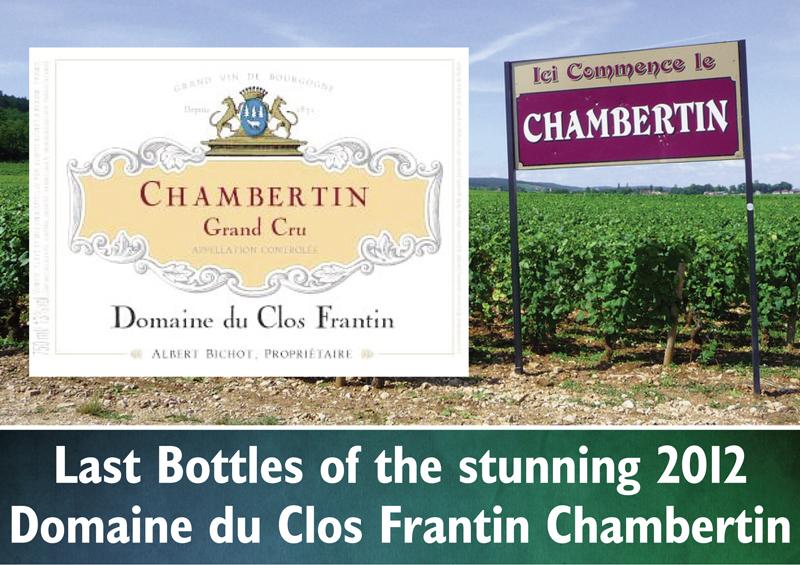 Frantin 2012 Chambertin Last