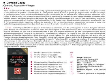 Gauby RVF 2014