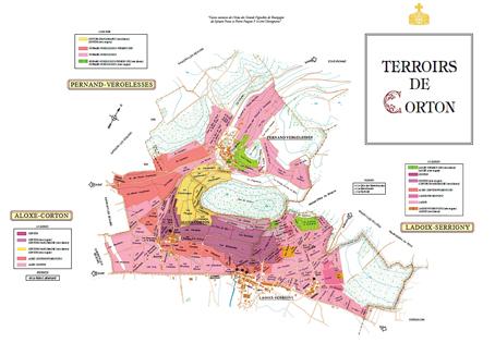 Corton Map 96