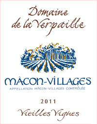 Verpaille Macon 2011 Label