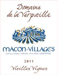 Verpaille Macon 2011 Label