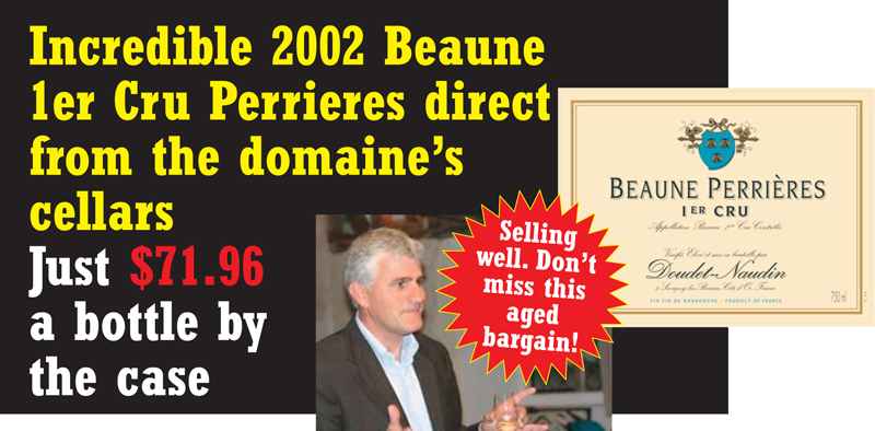 Doudet-Naudin 2002 Perrieres Bargain