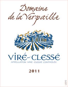 Verpaille Vire-Clesse 2011 Label