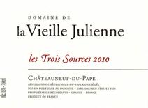 Vieille Julienne Trois Sources 2010 Label