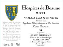2011 Hospices Santenots