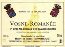 Remoriquet Malconsorts Label