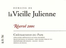 Vieilles Julienbne Reserve 2006