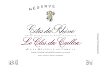 Caillou Reserve Label