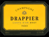 Drappier Carte d'Or Label